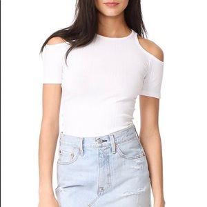 FRAME Denim White T-shirt ❤️